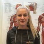 Portræt af Fysioterapeaut Maja Hallum
